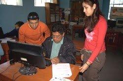 Imagen del programa Willay que ONGAWA desarrolla en Perú