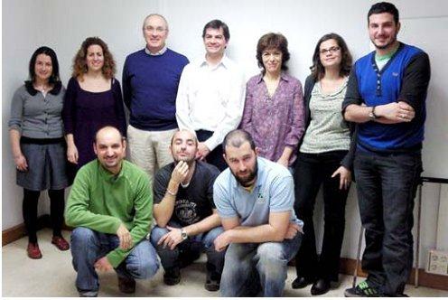 Grupo de voluntariado en el área sectorial agua