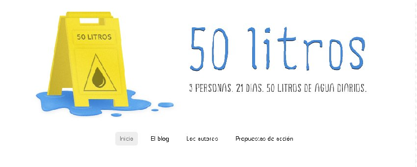 50 litros diarios