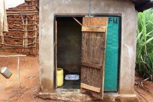 Letrina en Tanzania