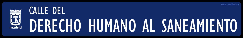 placa calle grande