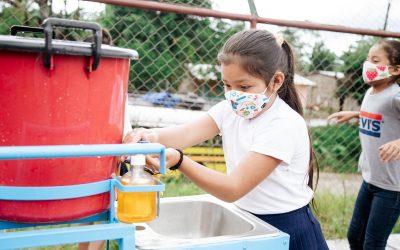 Agua e higiene contra el coronavirus en las zonas rurales de Nicaragua