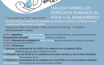 Diálogo sobre los Derechos Humanos al Agua y al Saneamiento